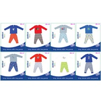 BABY BOYS LONG SLEEVES+LONG PANT
