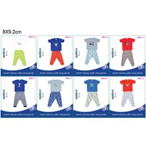 BABY BOYS SHORT SLEEVES+LONG PANT