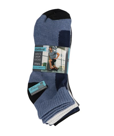Mens Crop Socks 1x5pair