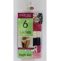 Ladies high leg briefs